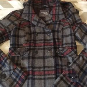 Super soft pretty plaid coat!